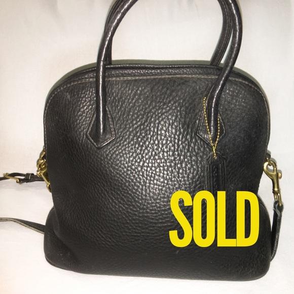 Coach Handbags - SOLD! COACH SONOMA Vintage Leather Dome Satchel